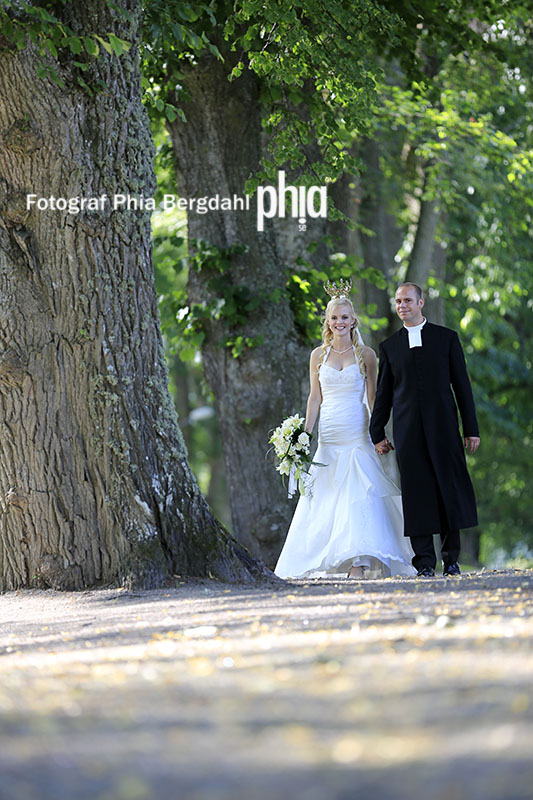 Bröllop -  Fotograf Phia Bergdahl Västervik