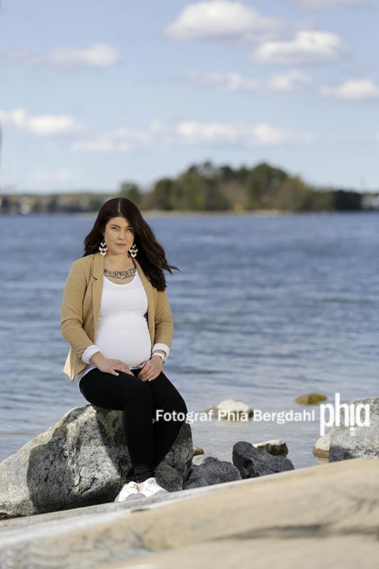 Gravidfotografering i Västervik - fotograf Phia Bergdahl