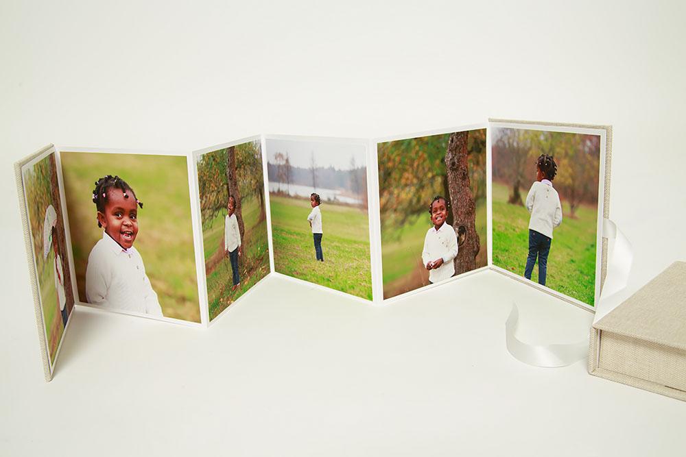 Folderalbum från fotograf Phia Bergdahl