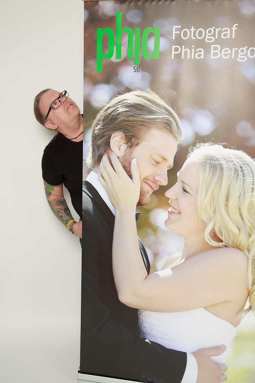 Roll upp med bröllopstema