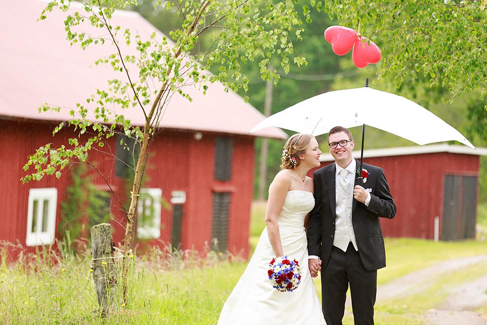 Bröllopsfotografering i Hjorted, fotograf Phia Bergdahl Västervik
