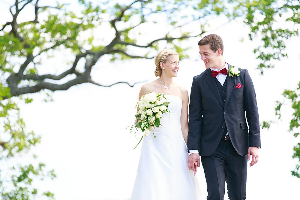Bröllopsfotografering på Ekholmen, Gärnsö - fotograf Phia Bergdahl Västervik