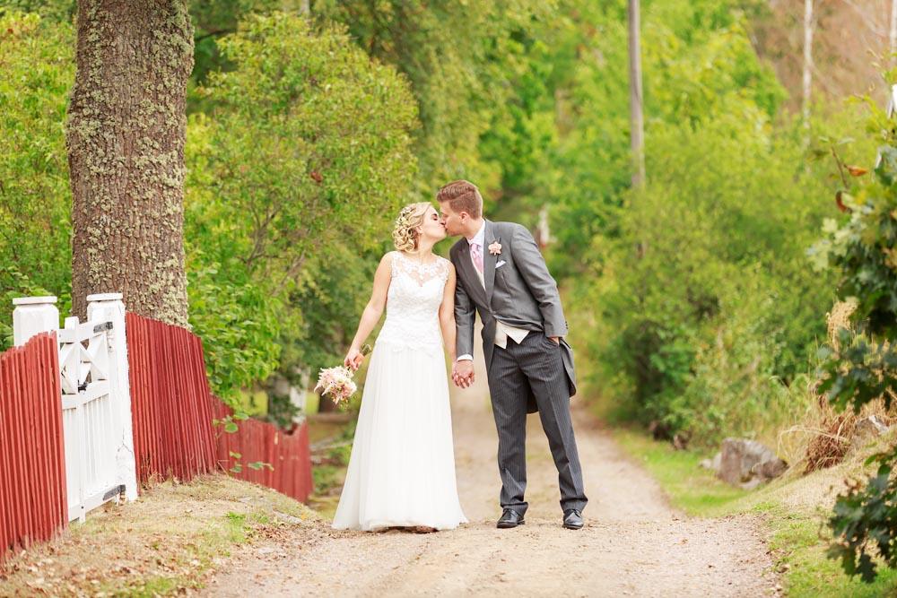 Bröllopsfotograf i Vimmerby - fotograf Phia Bergdahl Västervik