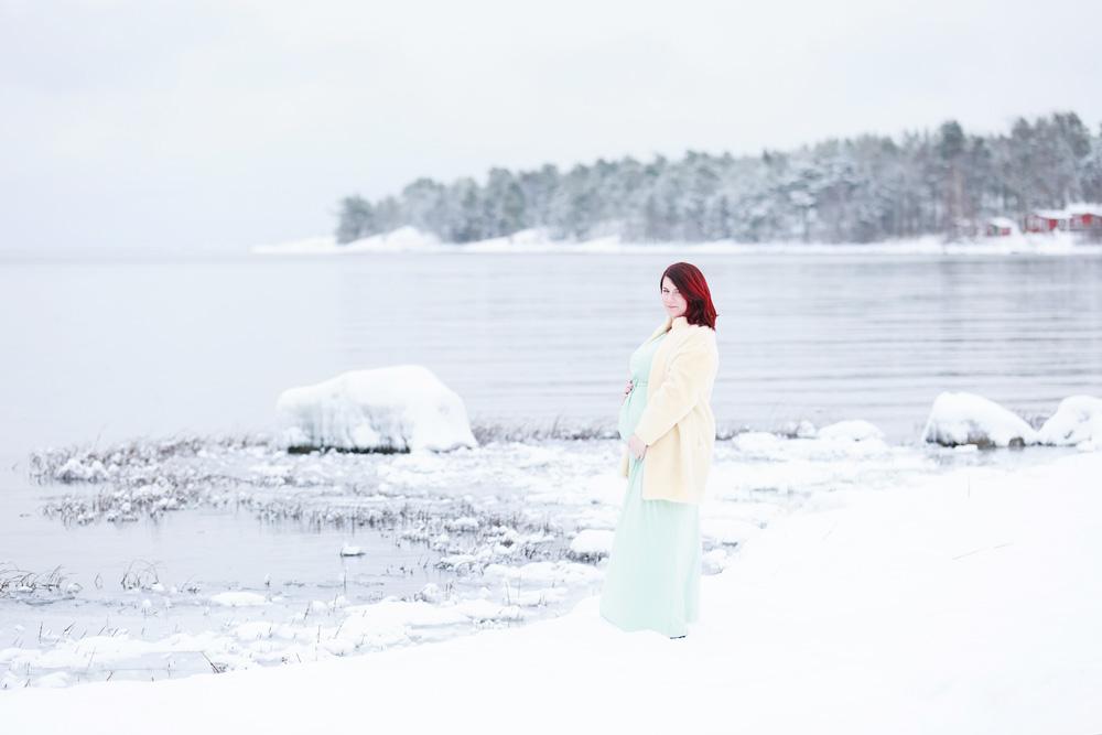 Gravidfotografering - fotograf Phia Bergdahl Västervik