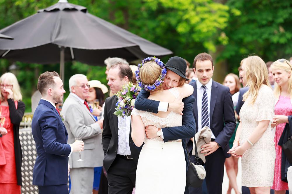 Gratulationer på bröllop på Gränsö slott - bröllopsfotograf Phia Bergdahl Västervik