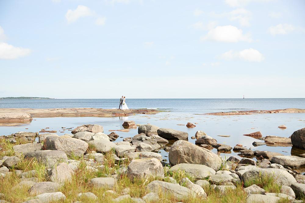 Brudpar på Skanvik, Gränsö