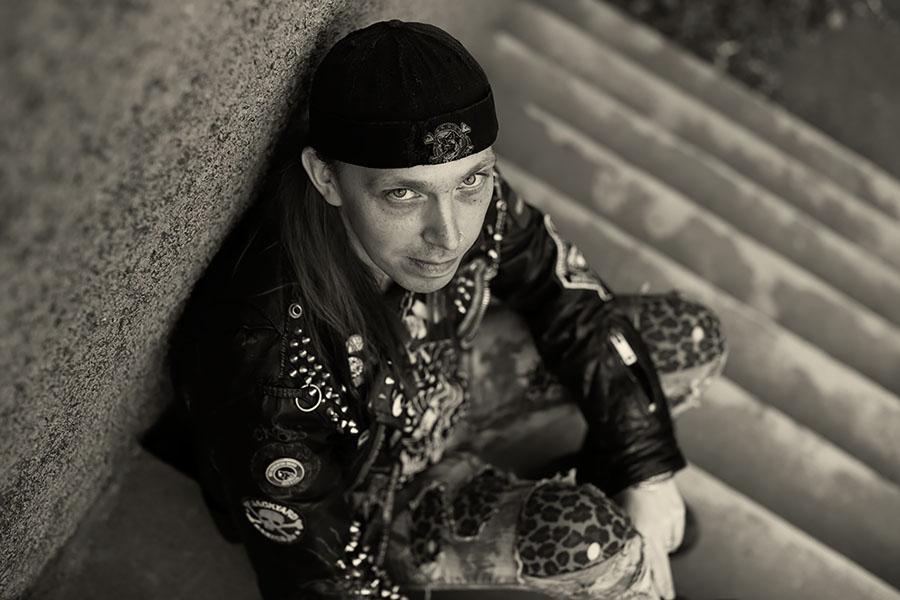 Punk - fotograf Phia Bergdahl Västervik