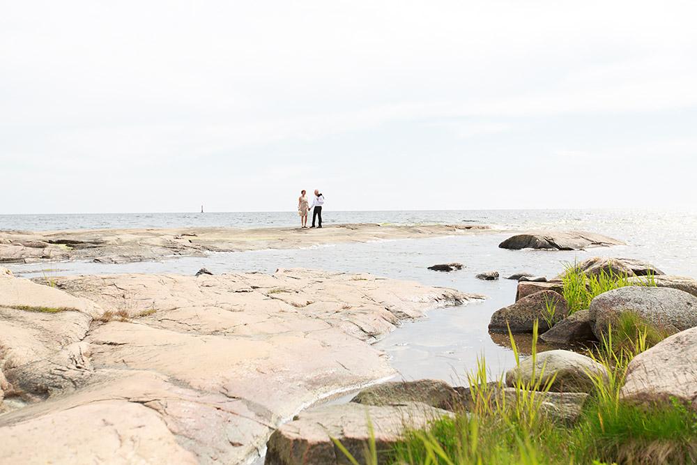 Brudpar på Skanvik, Gränsö fotograf Phia Bergdahl Västervik