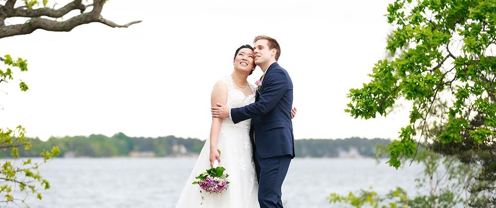 bröllop på Gränsö slott Västervik